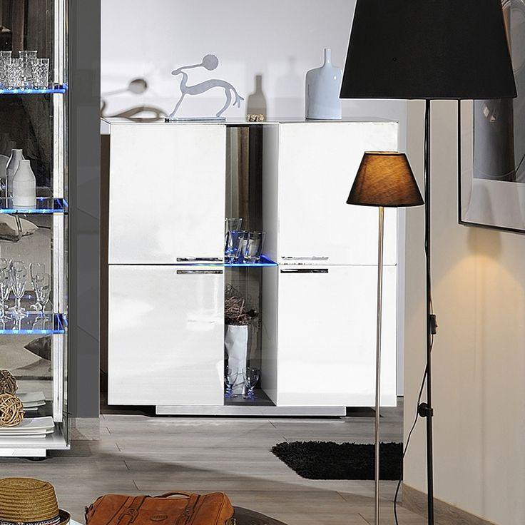 25 best ideas about buffet blanc laqu on pinterest. Black Bedroom Furniture Sets. Home Design Ideas