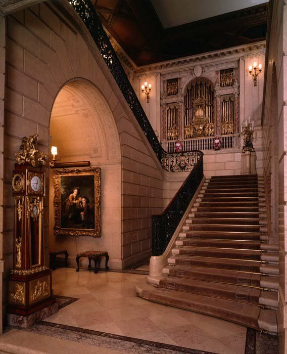 staircases grand | The Grand Staircase - Frick Collection Pictures - See Pictures from ...
