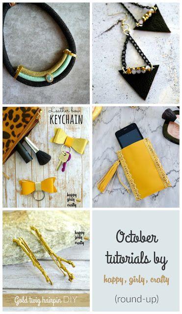 October tutorials round-up!