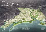 Bridgeport Park Master Plan designed by Sasaki Associates (via New England Real Estate Journal Network)