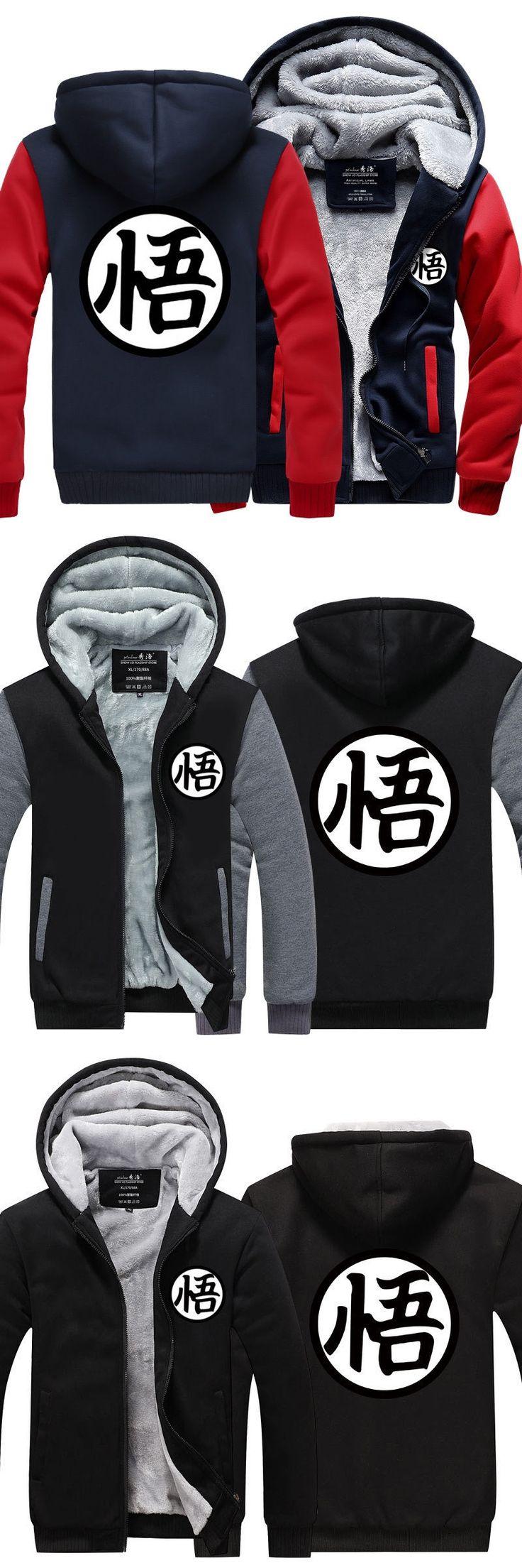Dragonball Son Goku Dragon Ball Super Hoodie Sweatshirt Costume Jacket  For Men Winter Spring Wear