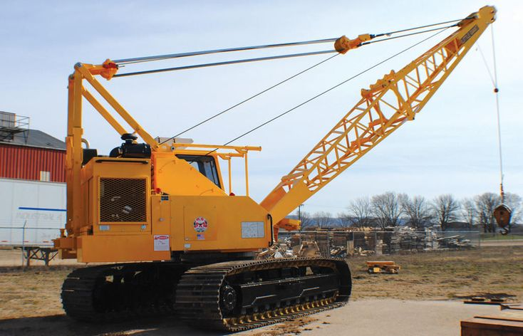 #FSC 3810 Cranes And #Crane Shovels