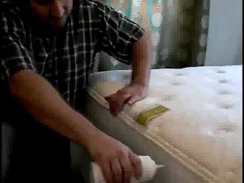 How to Get Rid of Bed Bugs (so they don't come back!)   Powder on mattress and traps on bed feet.