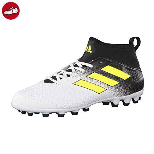 Adidas Herren Ace 17.3 AG Fußballschuhe, Mehrfarbig (Ftwr White/Solar Yellow/Core Black), 40 2/3 EU - Adidas schuhe (*Partner-Link)