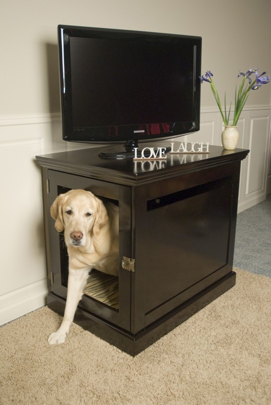 106 Best Images About Dog Bed Kennel In Cabinet Ideas On