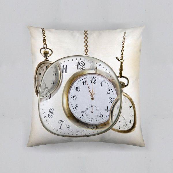 Cojín Relojes