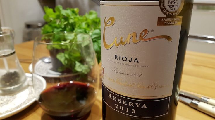 Cune Rioja Reserva 2013 - seasonal classic pleasure
