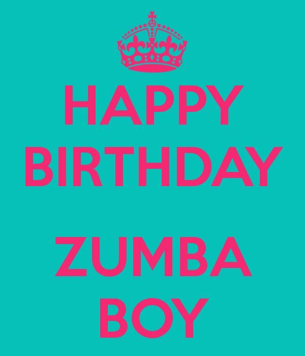 9 Best Zumba Birthdays Images On Pinterest
