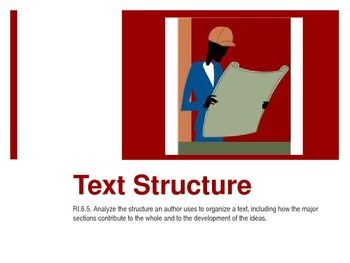 4, 5, 6 Text Structure PowerPoint, Lesson, Worksheets (Sim