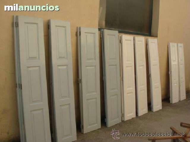 Compro contraventanas o puertas antiguas para restaurar - Restaurar puertas antiguas ...