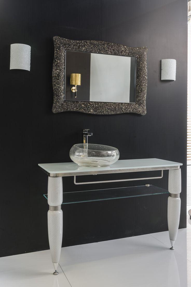 17 Best Images About Luxury Murano Glass Vanities On Pinterest Vanities Gold And Black
