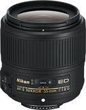 Nikon - AF-S NIKKOR 35mm f/1.8G ED Prime Lens for Select Nikon Dslr Cameras - Black