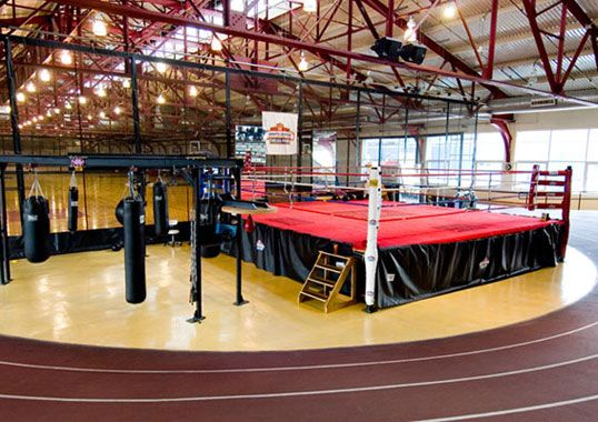 to have my own boxing gym for ladies and kiddos.