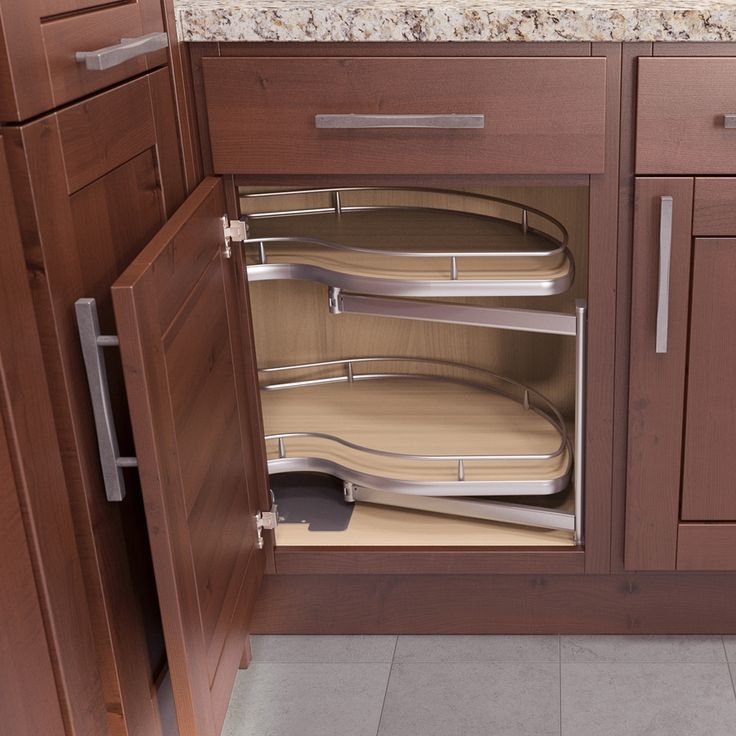 Luxury Kitchen Cabinet Blind Corner Pull Out