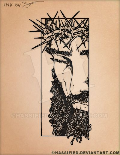 King of Kings Tattoo by hassified.deviantart.com on @DeviantArt  #tattoo #flash #custom