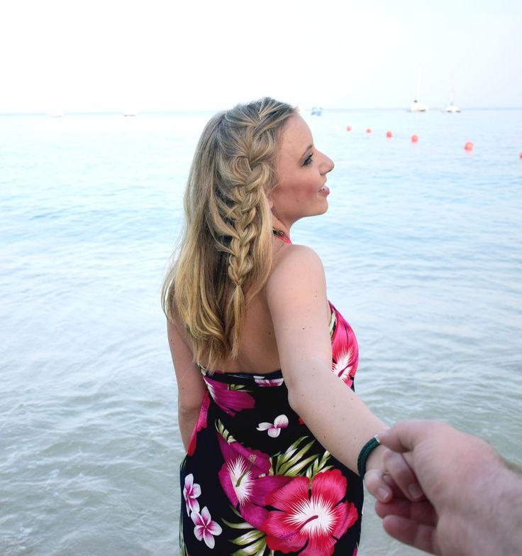 Holländischer Lace-Zopf. Ganz einfache und schöne Frisur für den Urlaub |geflochtene Haare | Haare flechten | Flechtfrisur