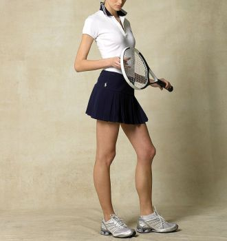 Cute preppy tennis outfits - pleated skirts and cute tops - size medium