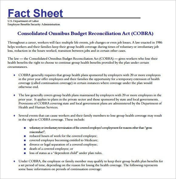 Fact Sheet Templates Word Excel Pdf Formats Fact Sheet