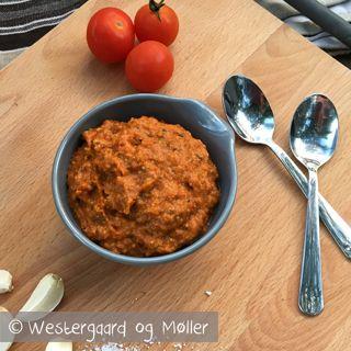 Opskrift på lækker tomatpesto