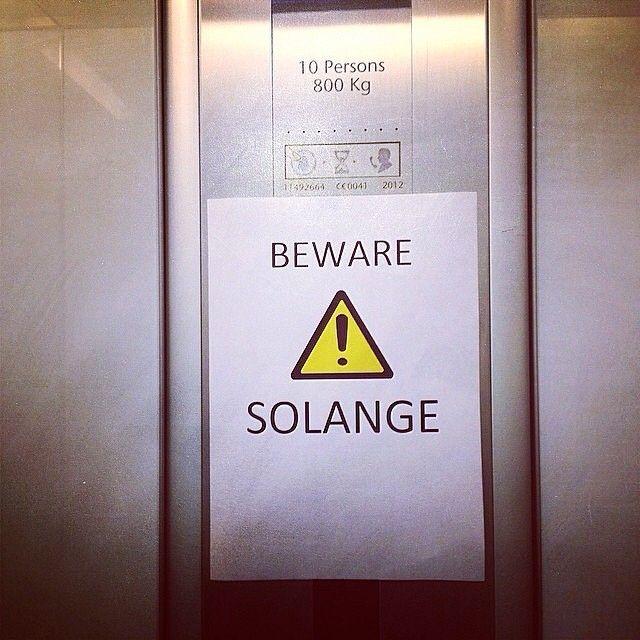 beware. solange.