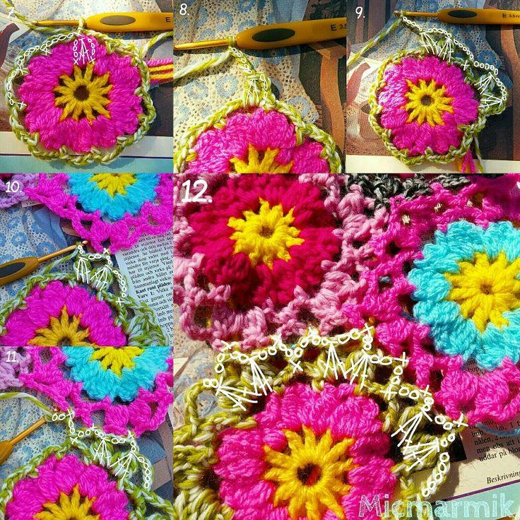 Crochet chart. Part two. Allers handarbetsbok