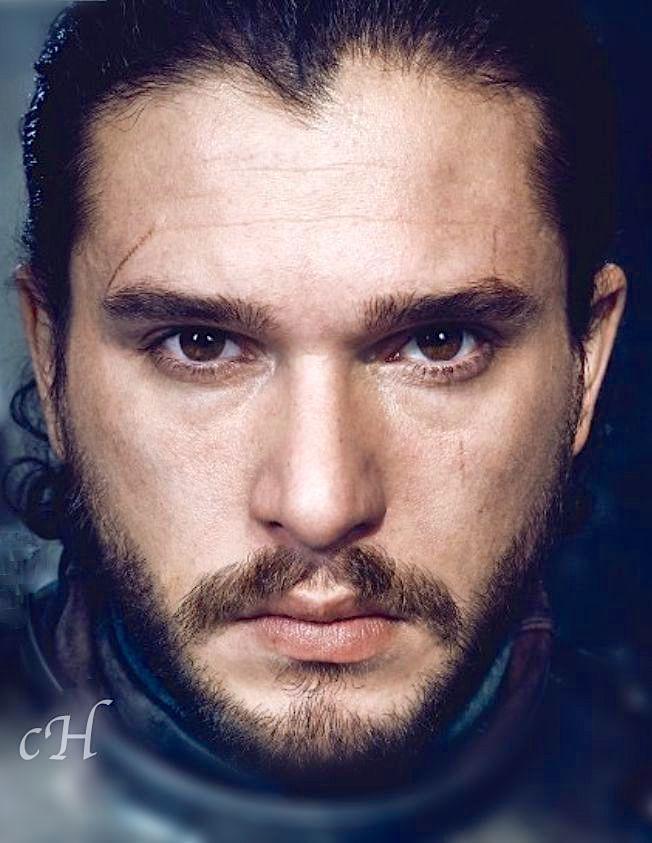 Kit Harington as Jon Snow by Marc Hom for EW