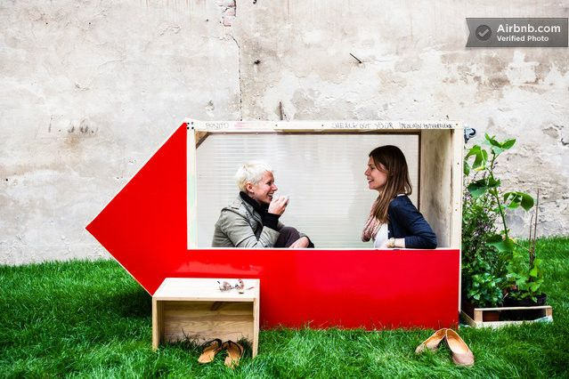 One-Sqm-House - at Guggenheim LAB in Berlin