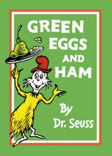 """Green Eggs and Ham"", by Dr. Seuss - challenged for phallic symbolism and portrayal of early Marxism."