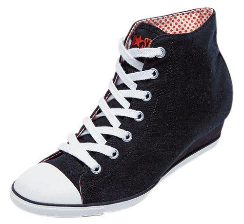 Converse Wedge Sneakers.