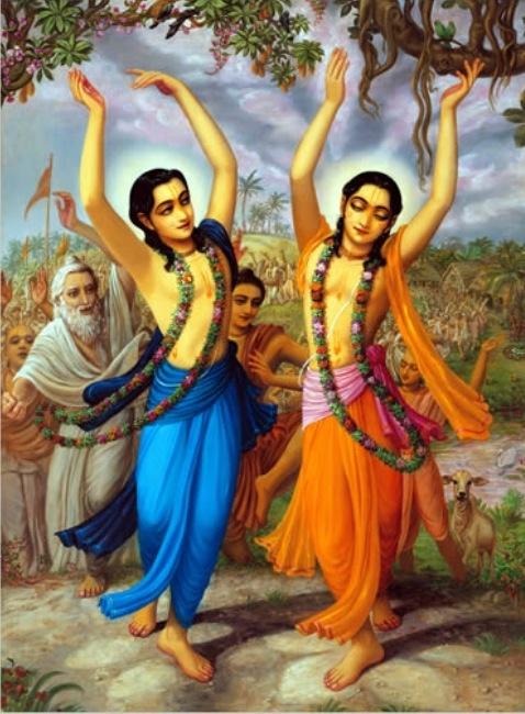 Lord Chaitanya & Lord Nityananda