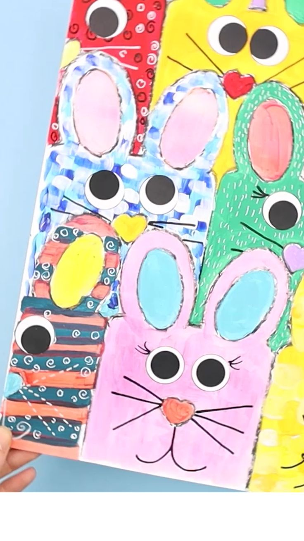 Spring Crafts For Kids, Easter Art, Bunny Crafts, Easter Crafts For Kids, Art Activities For Kids, Preschool Art, Art For Kids, Ester Crafts, Leaf Crafts