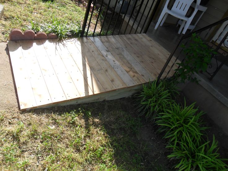 Build a Wooden Ramp | How To Build A Shed Ramp | DIY Woodworking Projects