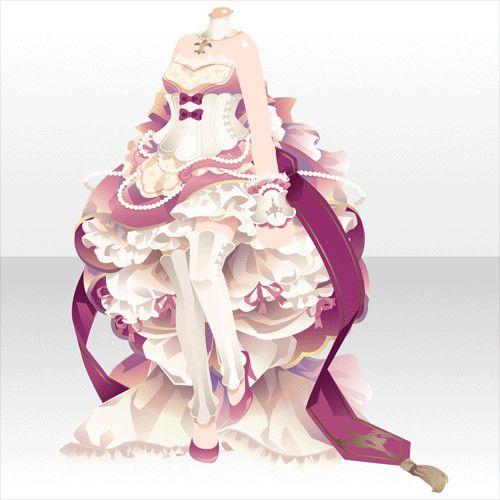プリンセスリーリエドレスA ピンク