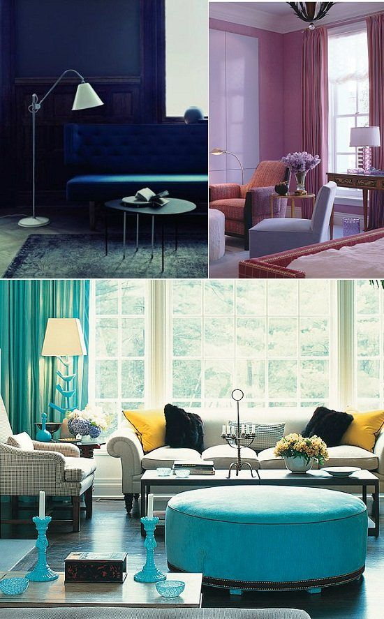 Jewel Tones are Beautiful Accents for Modern Home Decor