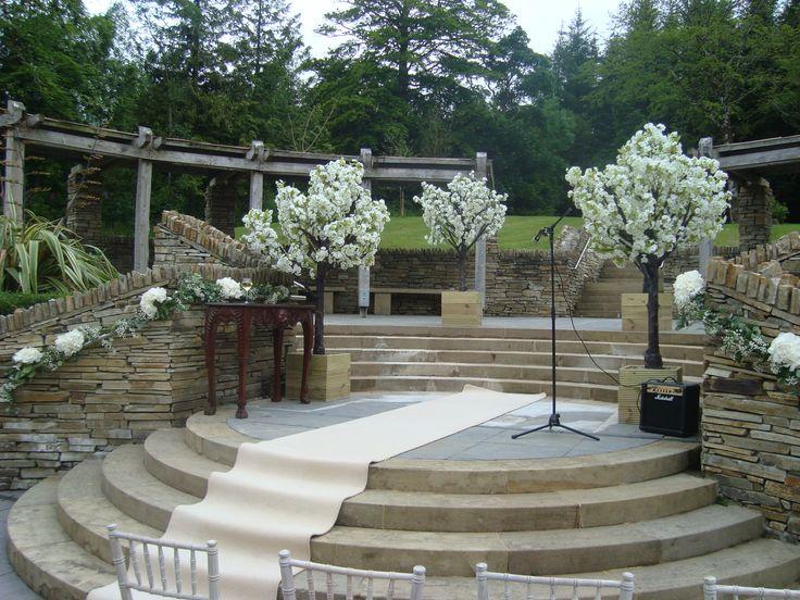 Outdoor Wedding At Solis Lough Eske Castle