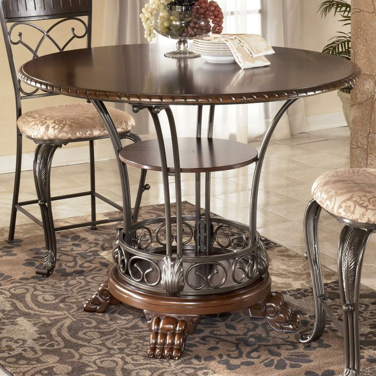 Alyssa Counter Height Table By Ashley Furniture