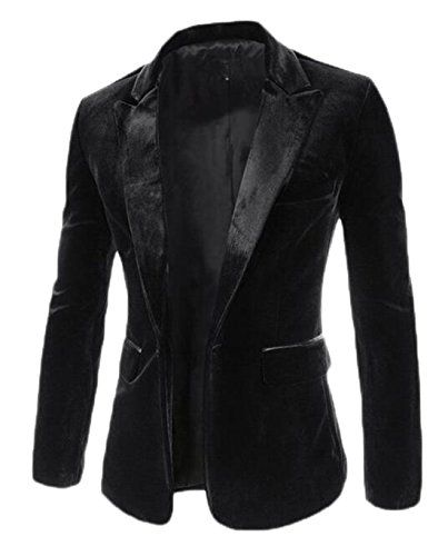 DANJIESHI Mens Casual One Button Blazer Jacket Slim Fit B... amazon.com