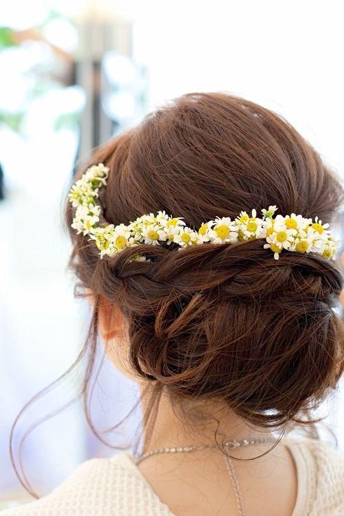 画像 : かわいい&おしゃれな花嫁ヘアスタイル★ - NAVER まとめ