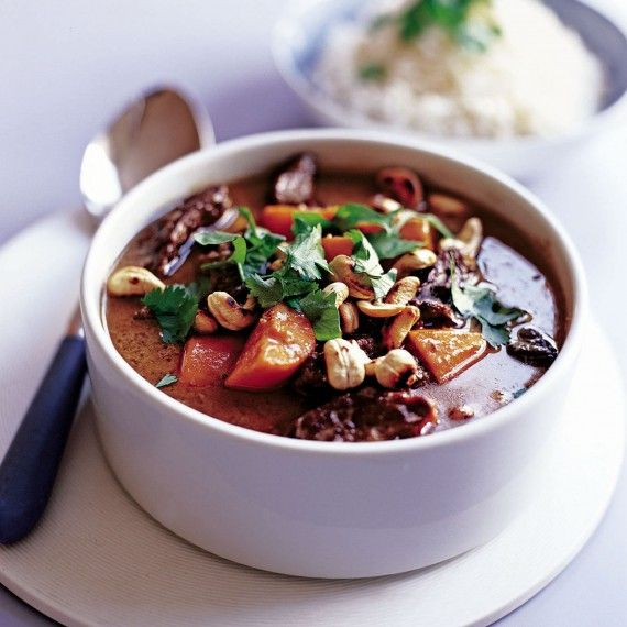 Coconut beef recipe - Just use a casserole to turn everyday stewing beef into a curry with a difference