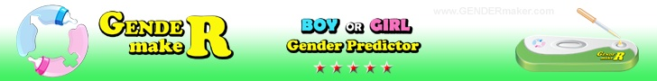 GENDERmaker.com baby gender predictor test fun for if the parents are not finding out shower game