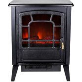 Found it at Wayfair - Bern Retro Style Floor Standing Electric Fireplace