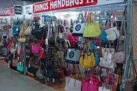 bags, bags, bags...stop in and shop from a variety of purses and wallets at JOINUS handbags At Festival Flea Market Mall in Pompano Beach!!