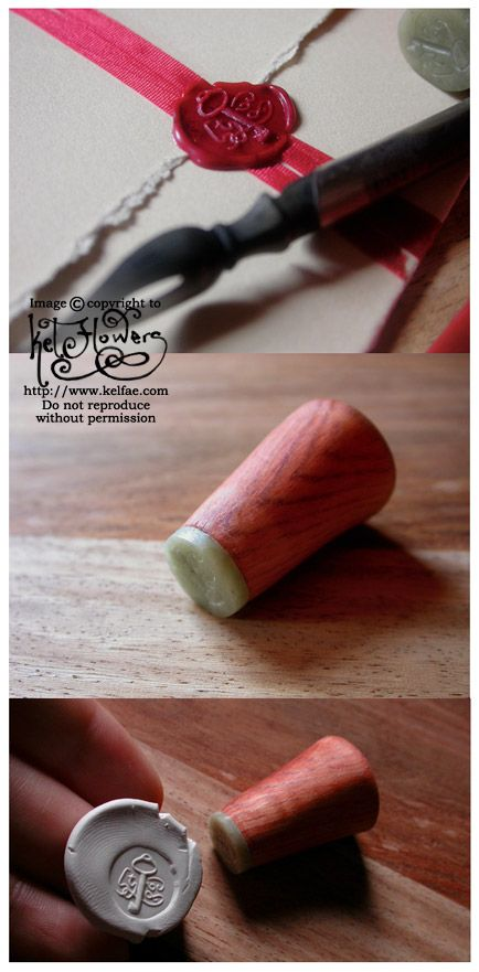 Tutorial -  Personal Wax Seal by myceliae.deviantart.com