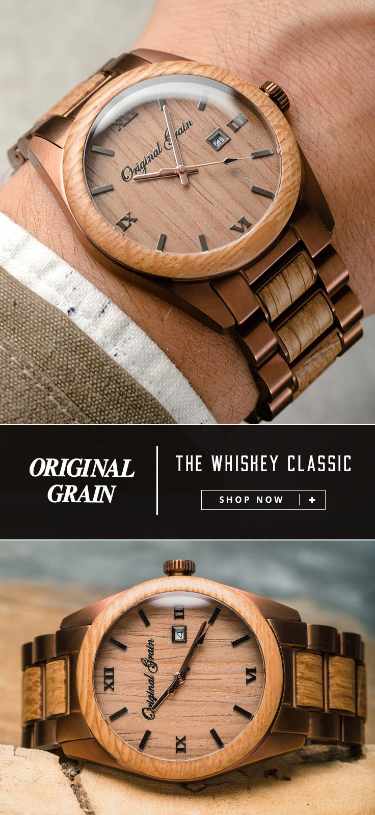 grain barrel watch watches handcrafted originalgrain kickstarter made projects original by wood whiskey w the