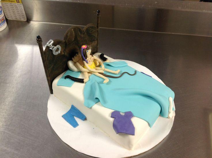 A 14th anniversary cake
