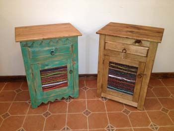 Santa Fe Style At Its Best, The Twig Night Stand Is Hand Crafted From Pine