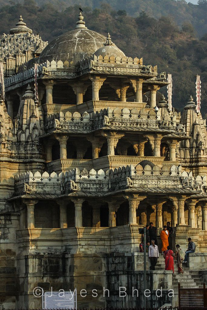 jain temple at ranakpur, rajasthan, india