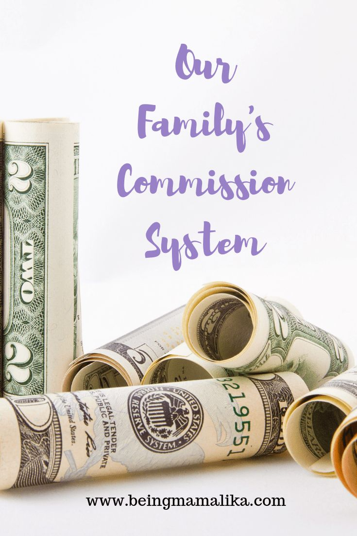 Our Family Commission System – Family money system