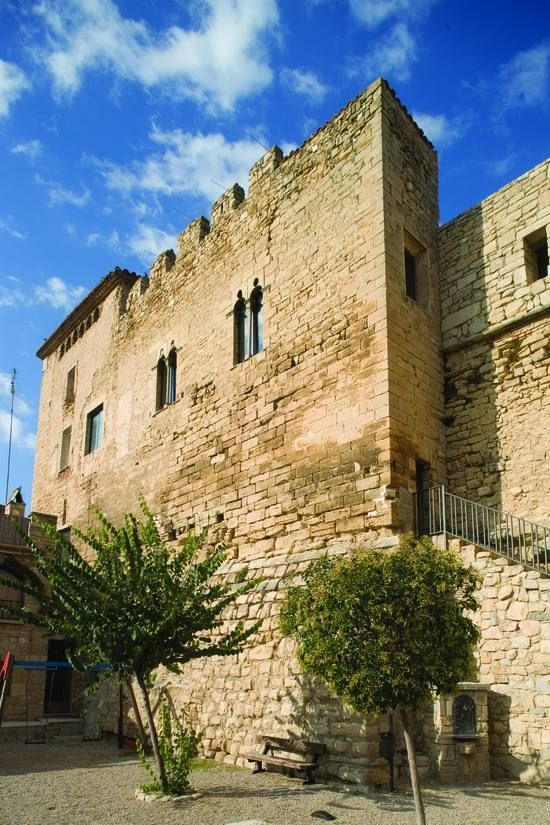 Castillo de Espluga Calba .Lerida Spain.