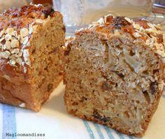 Cake aux Pommes, Avoine et à la Compote de Pomme Allégé